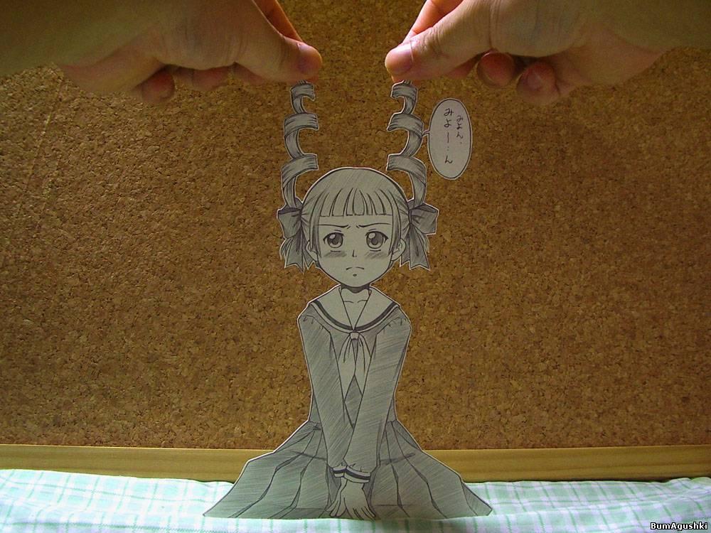 Аниме персонажи своими руками